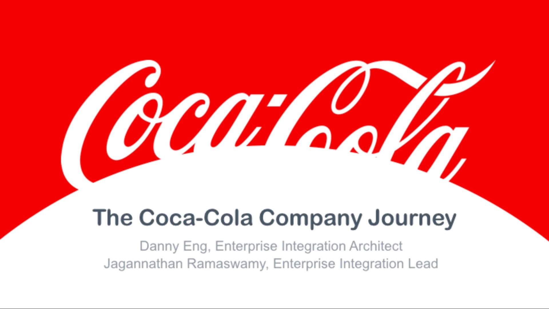 Webinar: Evaluation to Implementation: The Coca-Cola Company Journey