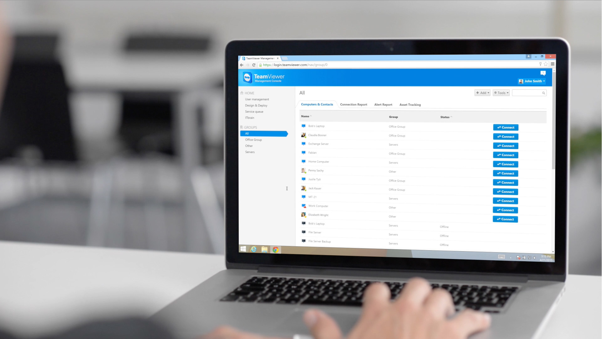 Getting Started with TeamViewer - Management Console