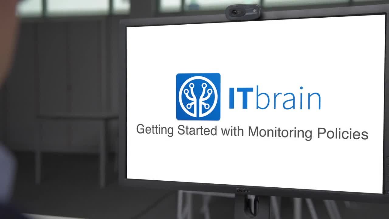 Management Console - Getting Started with ITbrain Monitoring Policies
