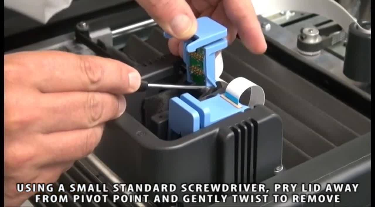 Print Head Socket Lid Replacement - Mojo