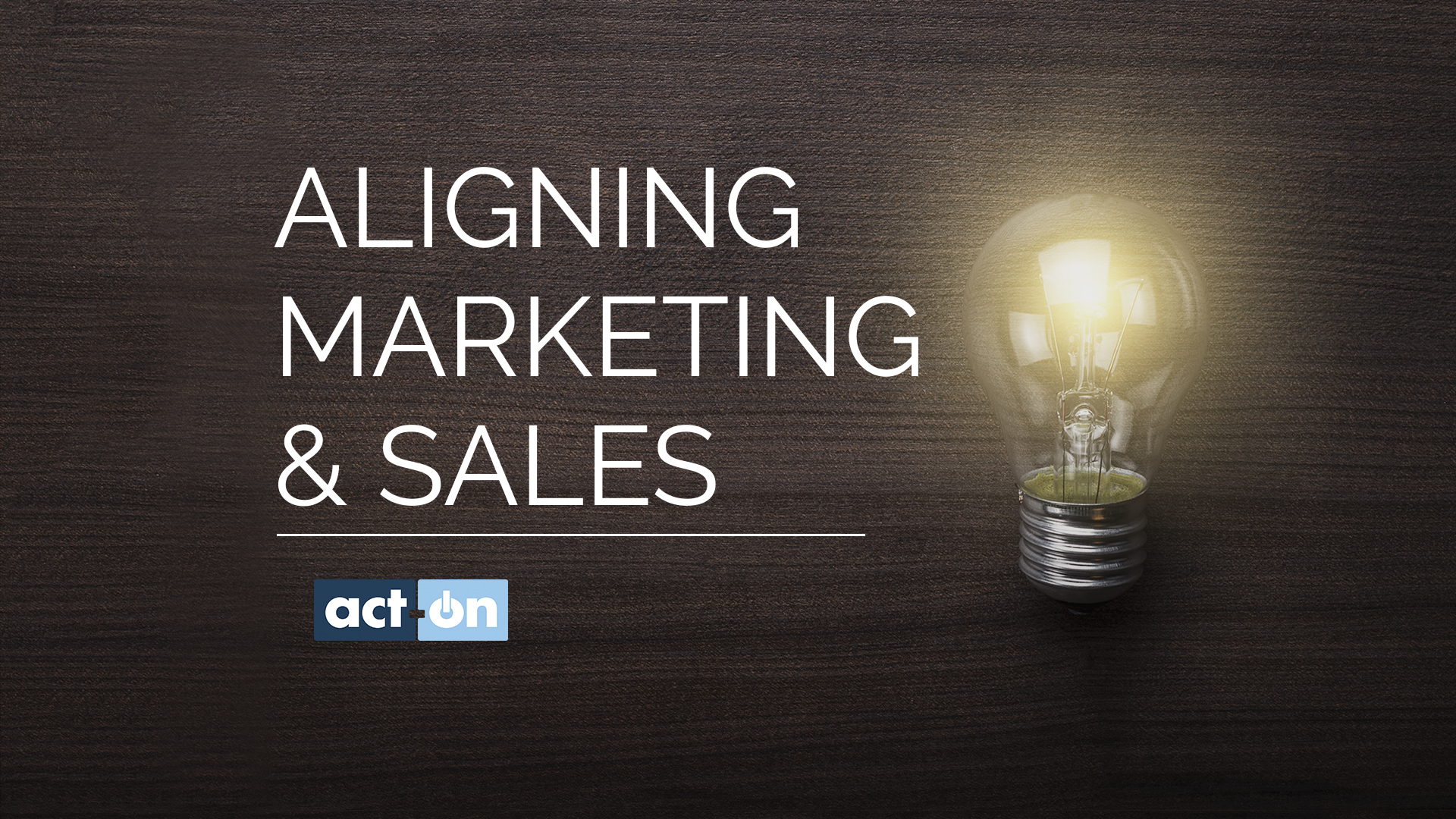 Aligning Marketing and Sales Quick Tips Video