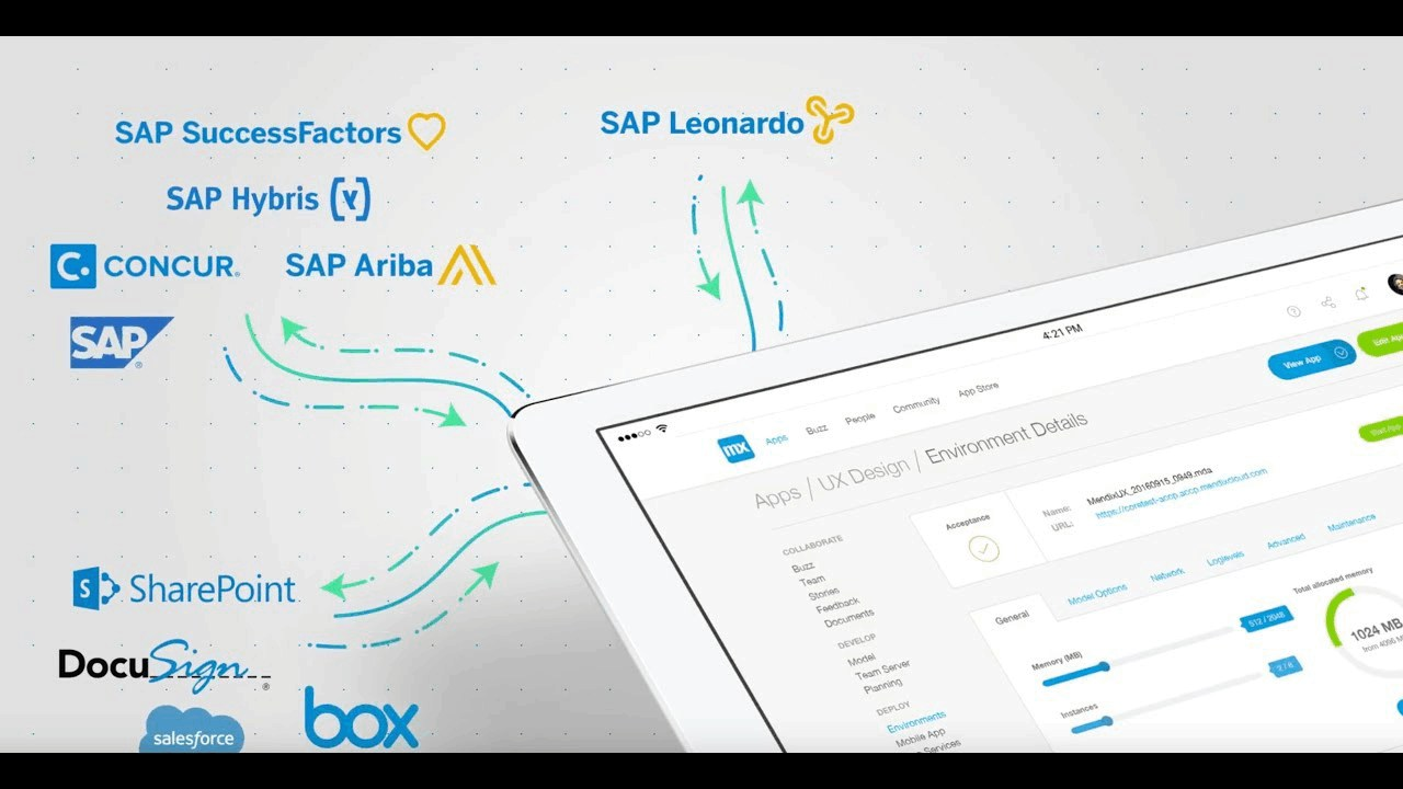 Mendix and SAP join forces