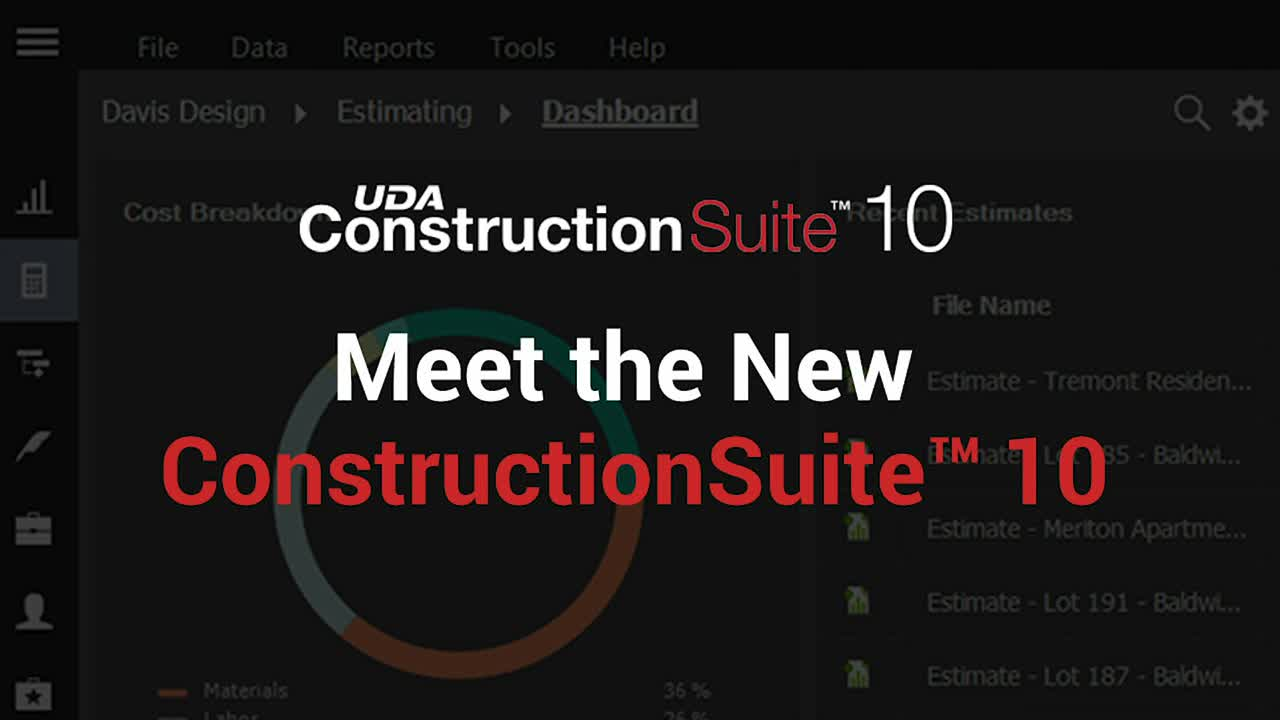 Introducing the Revolutionary New ConstructionSuite 10