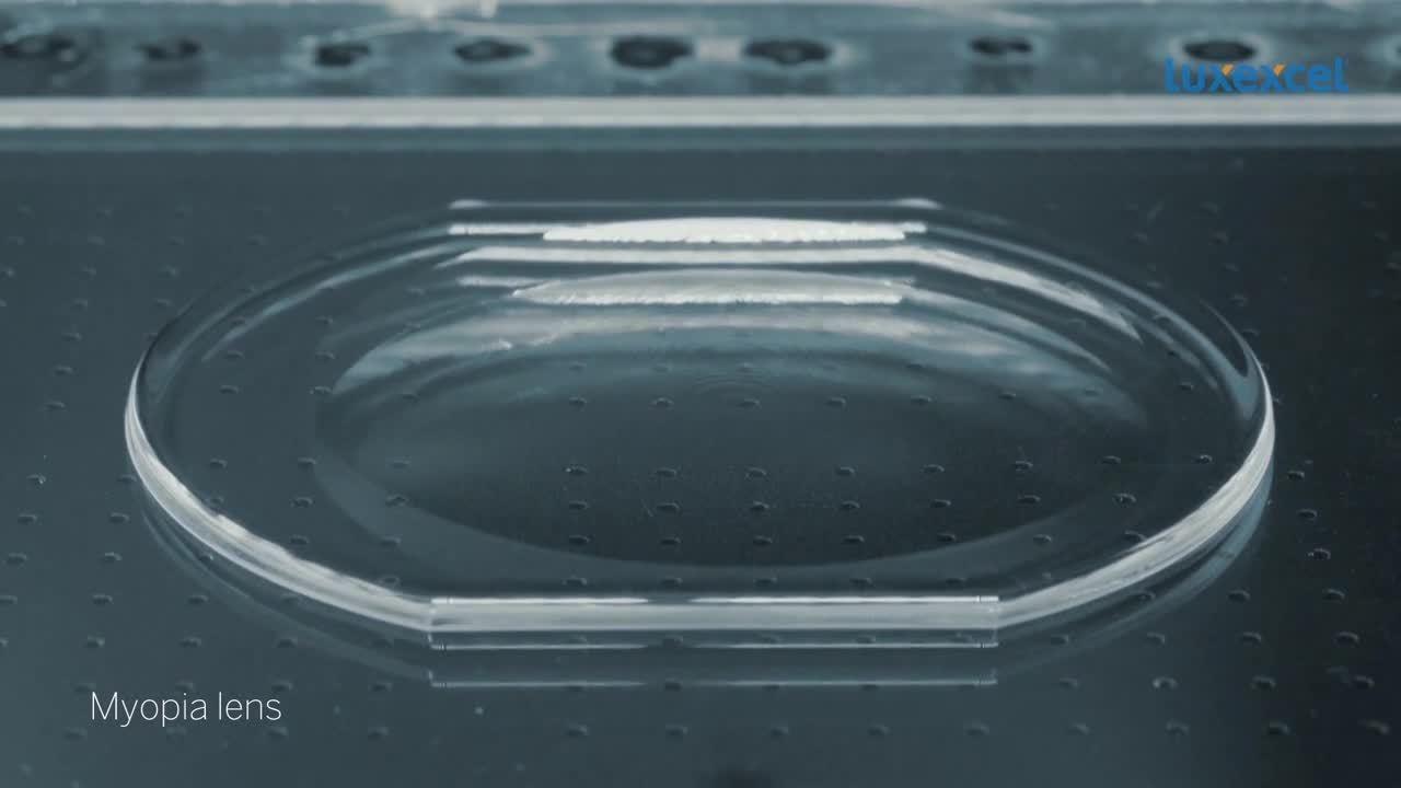 Myopia lens snippet