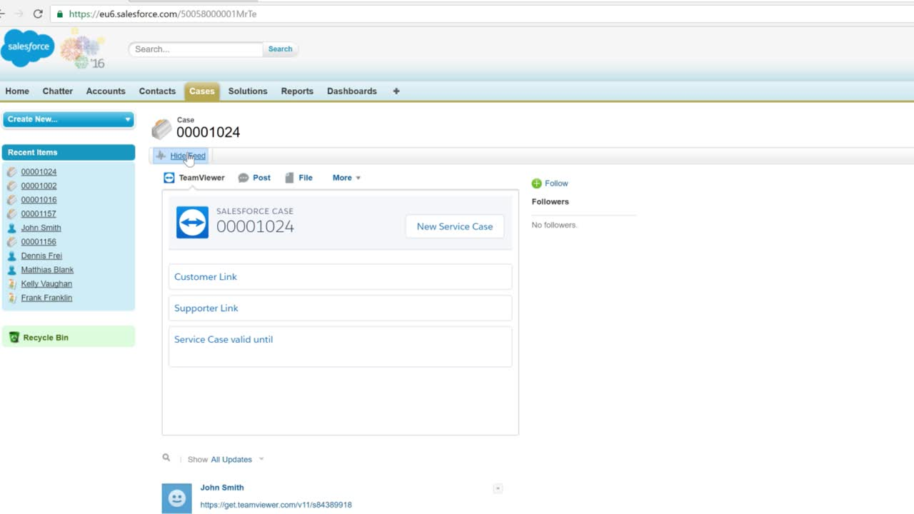TeamViewer Integration for Salesforce
