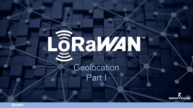 Geolocation - Part I