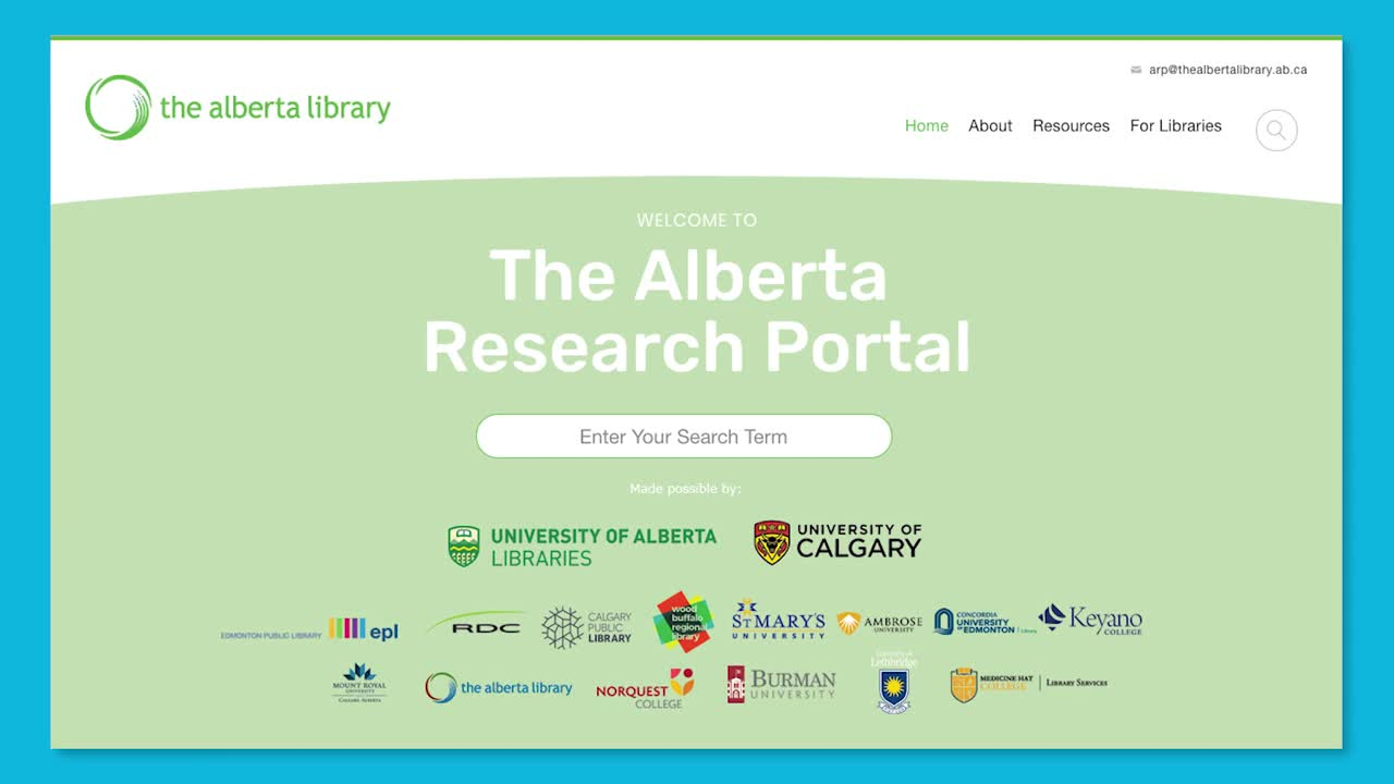 Introduction to Primary Sources with The Alberta Research Portal Thumbnail