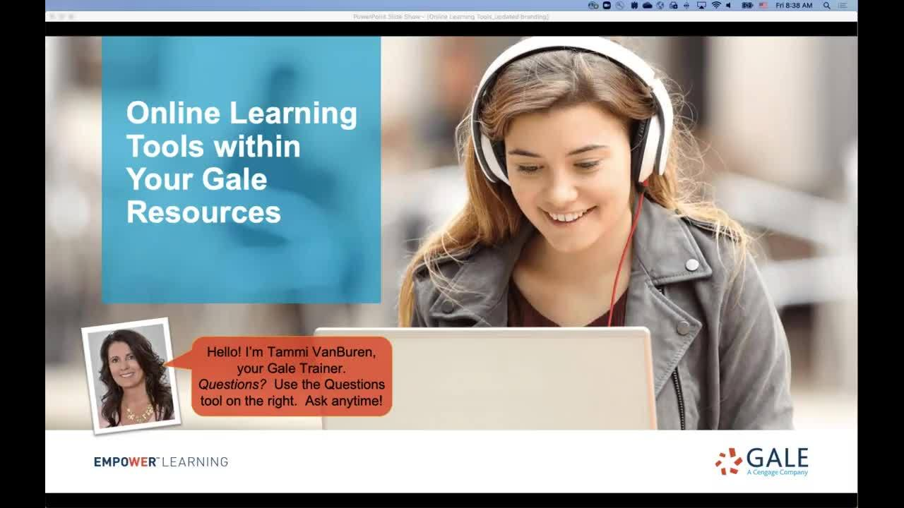 Online Learning Tools Within Your Gale Resources Thumbnail
