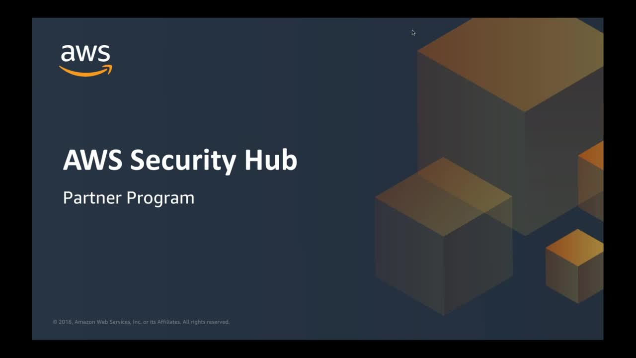 AWS Security Hub - Partners Onboarding