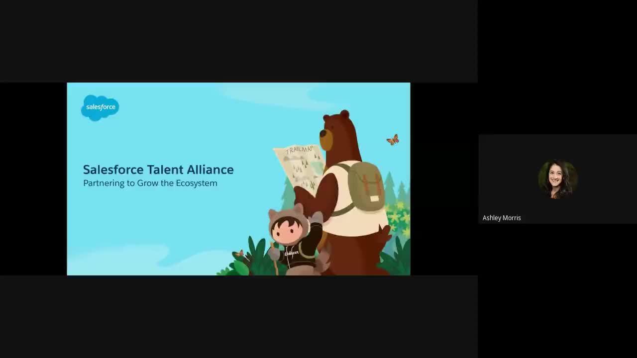 Salesforce Talent Alliance Kick Off