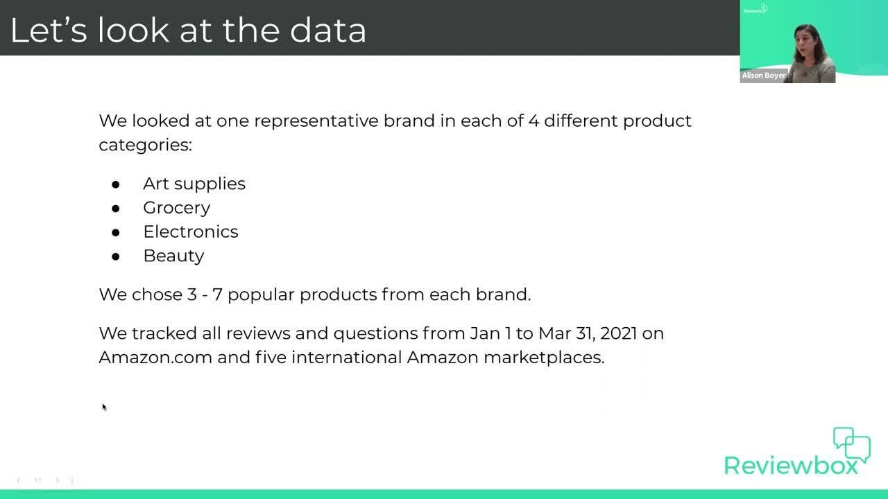 Understanding Amazon Q&A Webinar