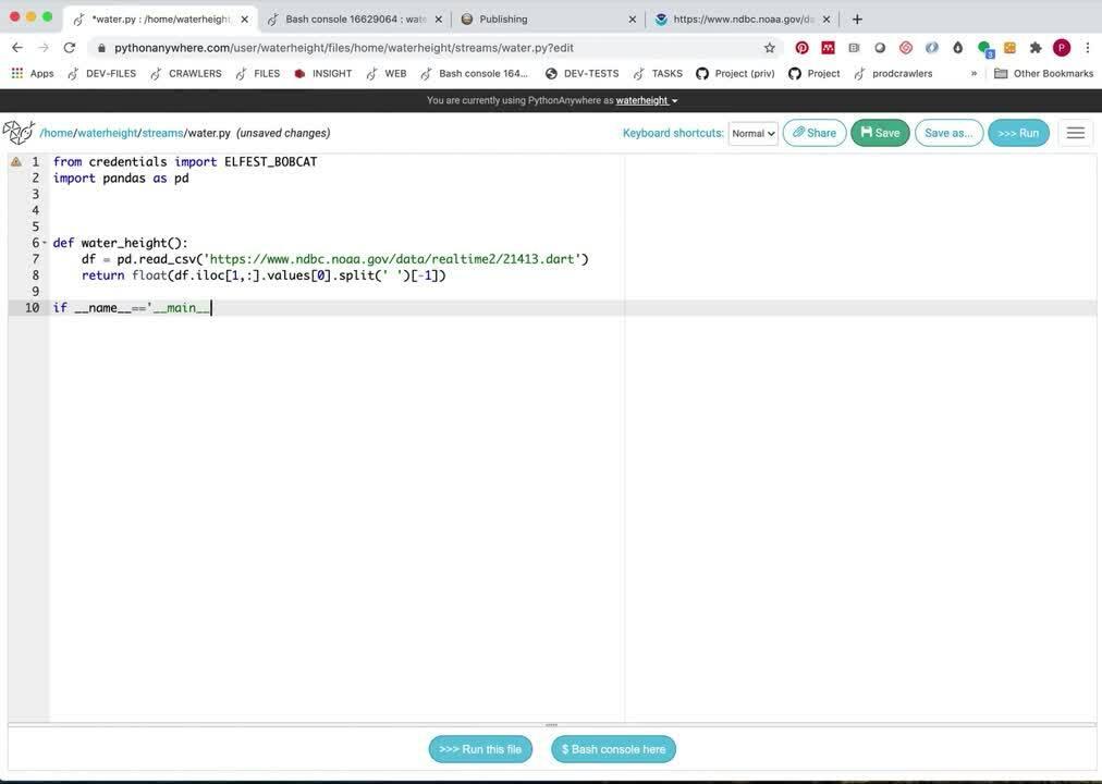 Microprediction.Org stream creation