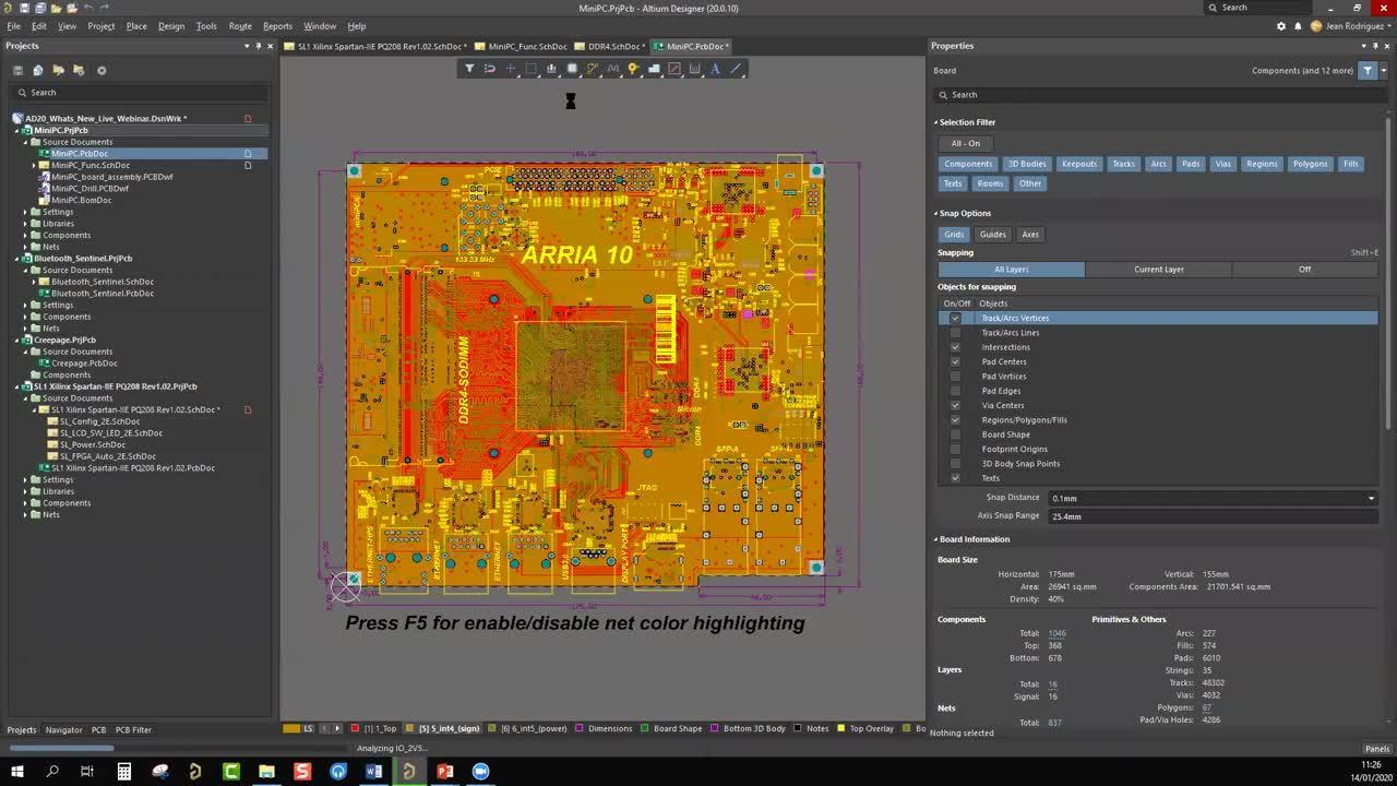 2020-01-14 -Altium Designer 20What's New - ES - Webinar - EMEA - ADSCVid