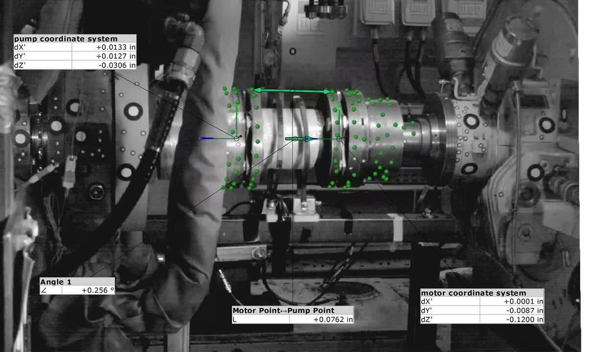 Pump alignment testing