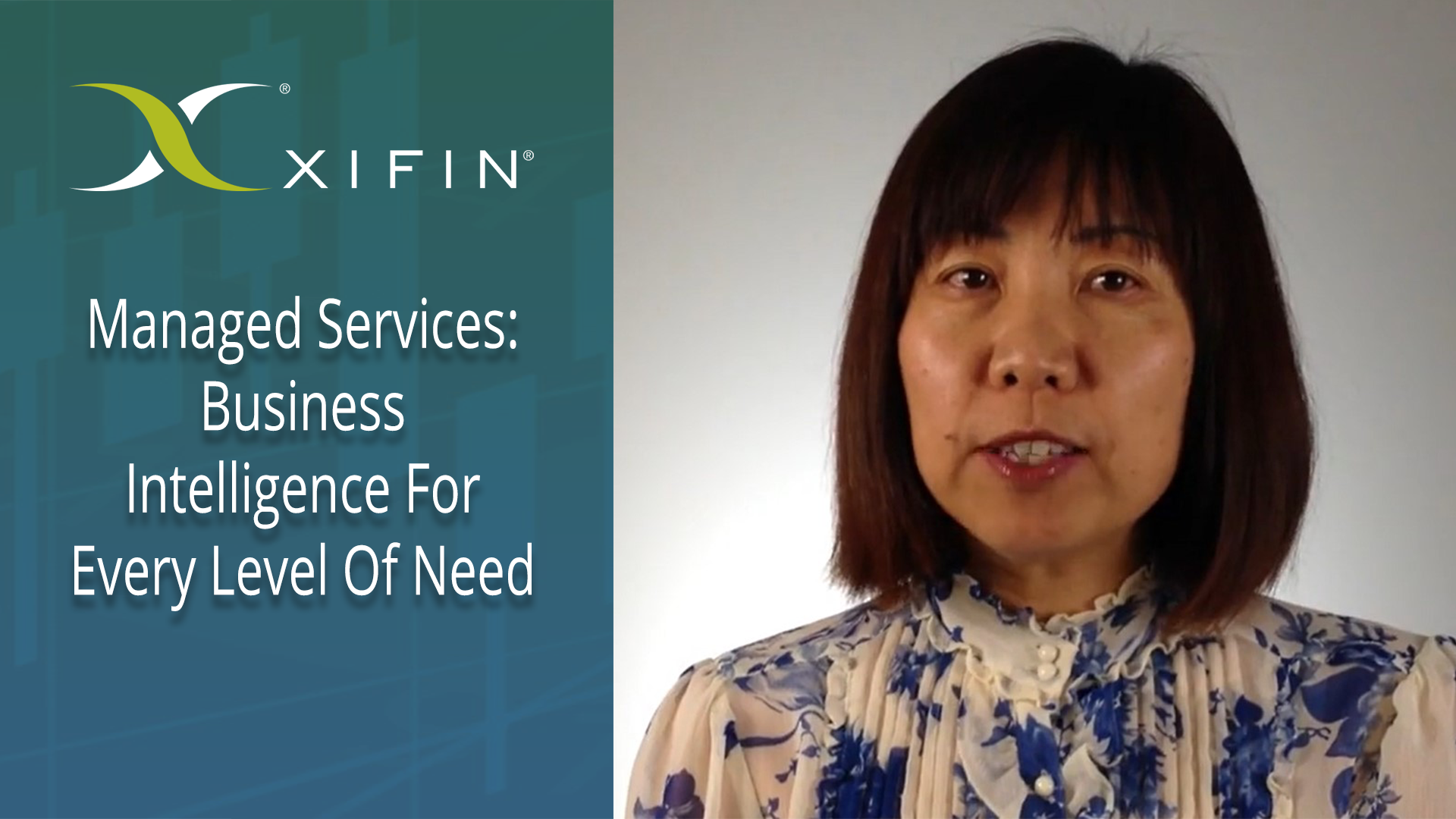 XIFIN Managed Services - Business Intelligence for Every Level of Need
