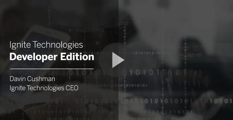 Ignite Technologies Developer Edition