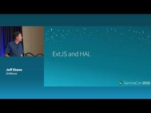 Building Ext JS using HATEOAS
