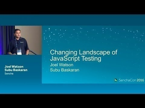 The Changing Landscape of JavaScript Unit Testing