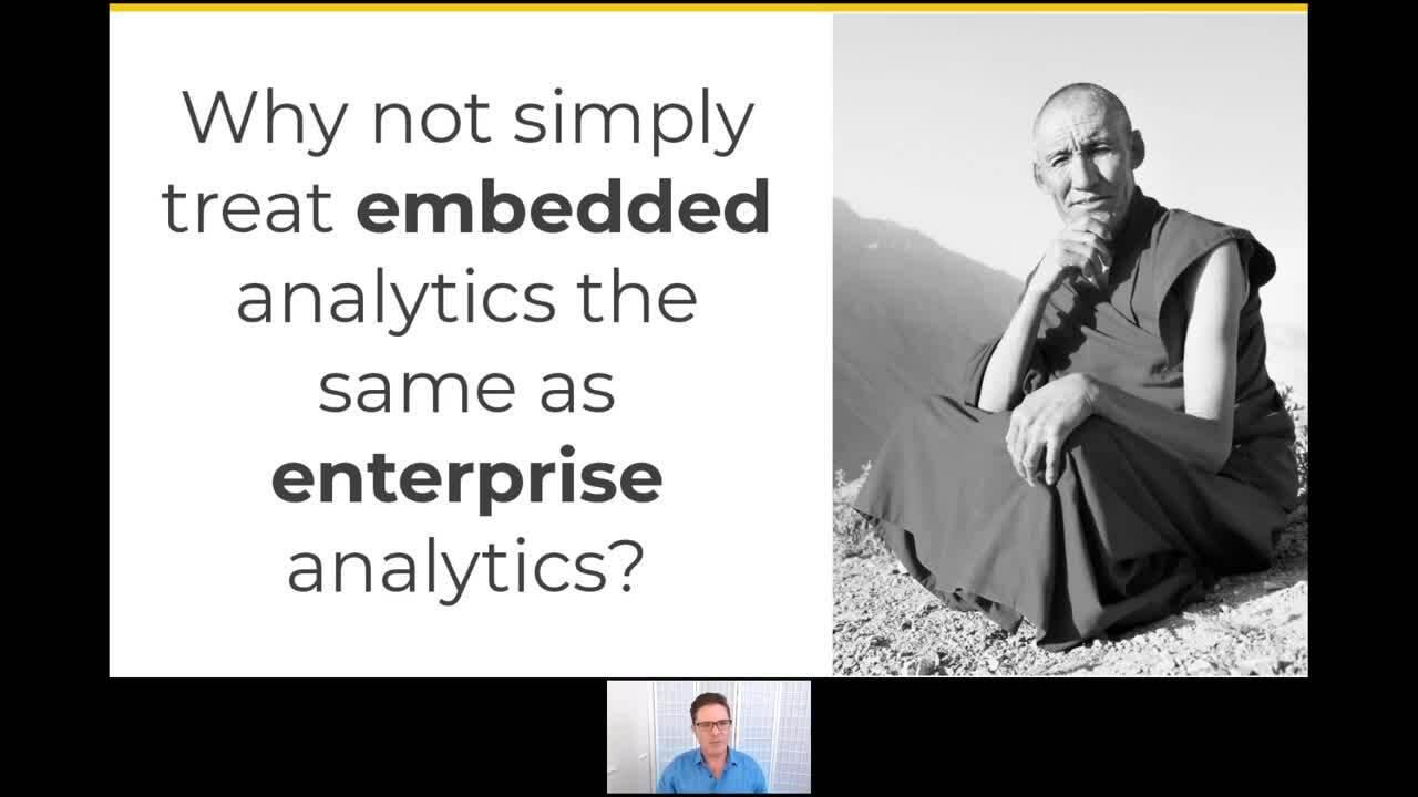 Embed vs enterprise