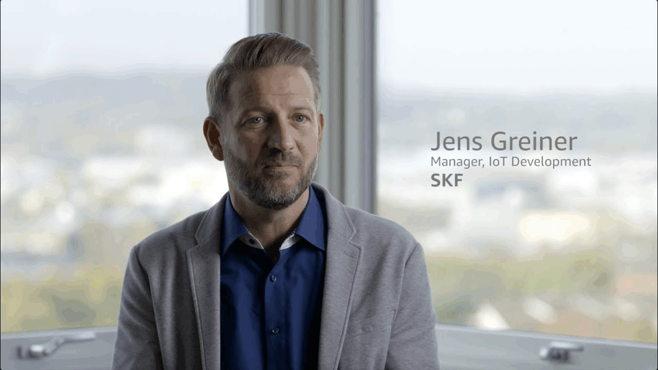 SKF Optimizes Production Processes Using AWS