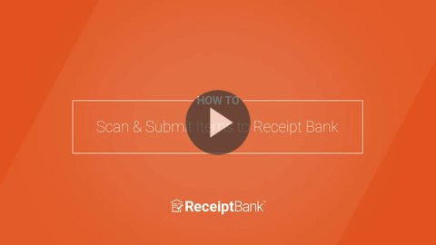 How to: Scan & Submit Items to Receipt Bank