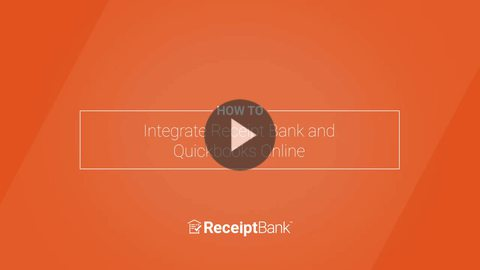 How to: Integrate Receipt Bank and Quickbooks Online