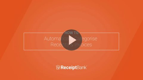 How to: Automatically Categorise Receipts & Invoices