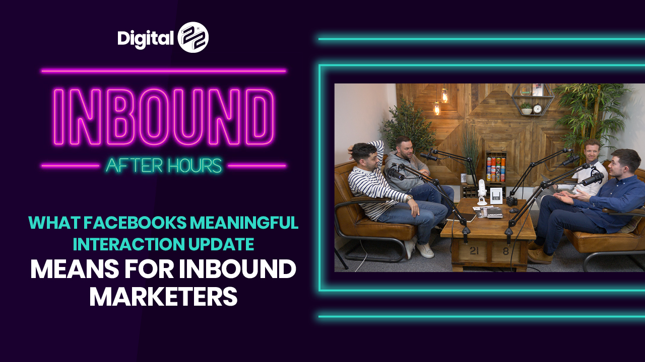 What Facebooks Meaningful Interaction Update Means for Inbound Marketers