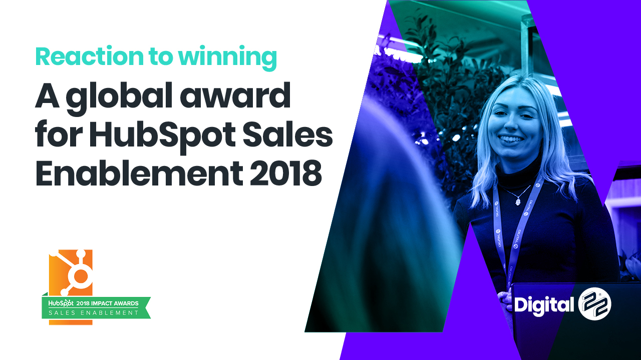 Rikki and Caroline Speaking about Sales enablement Grand Prize Winner For 2018 ( time - 4:56)