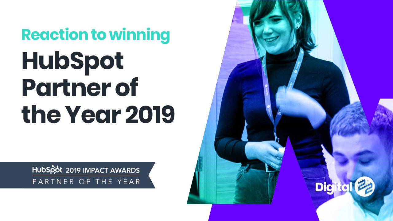 Rikki and Caroline on winning HubSpot Partner Of the Year (3:35)