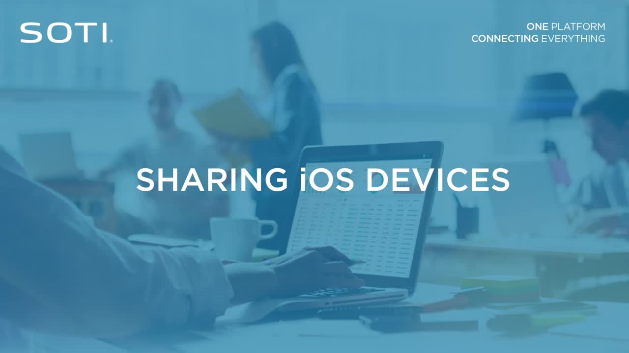 Sharing iOS Devices Video