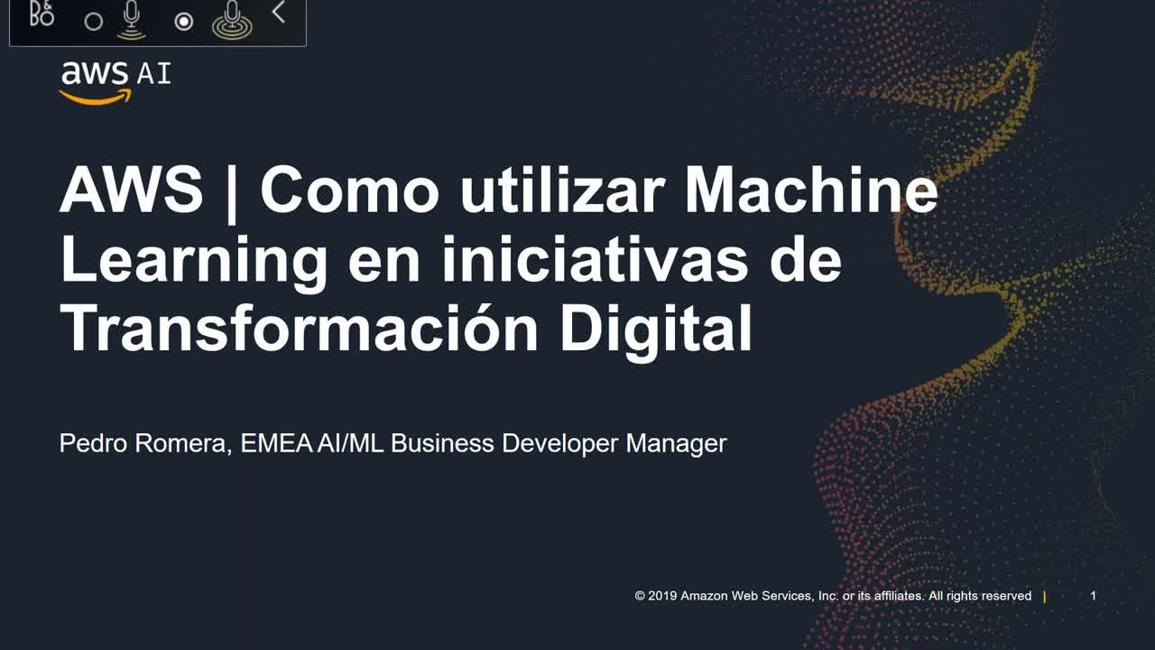 Webinar: Machine Learning en iniciativas de Transformación Digital