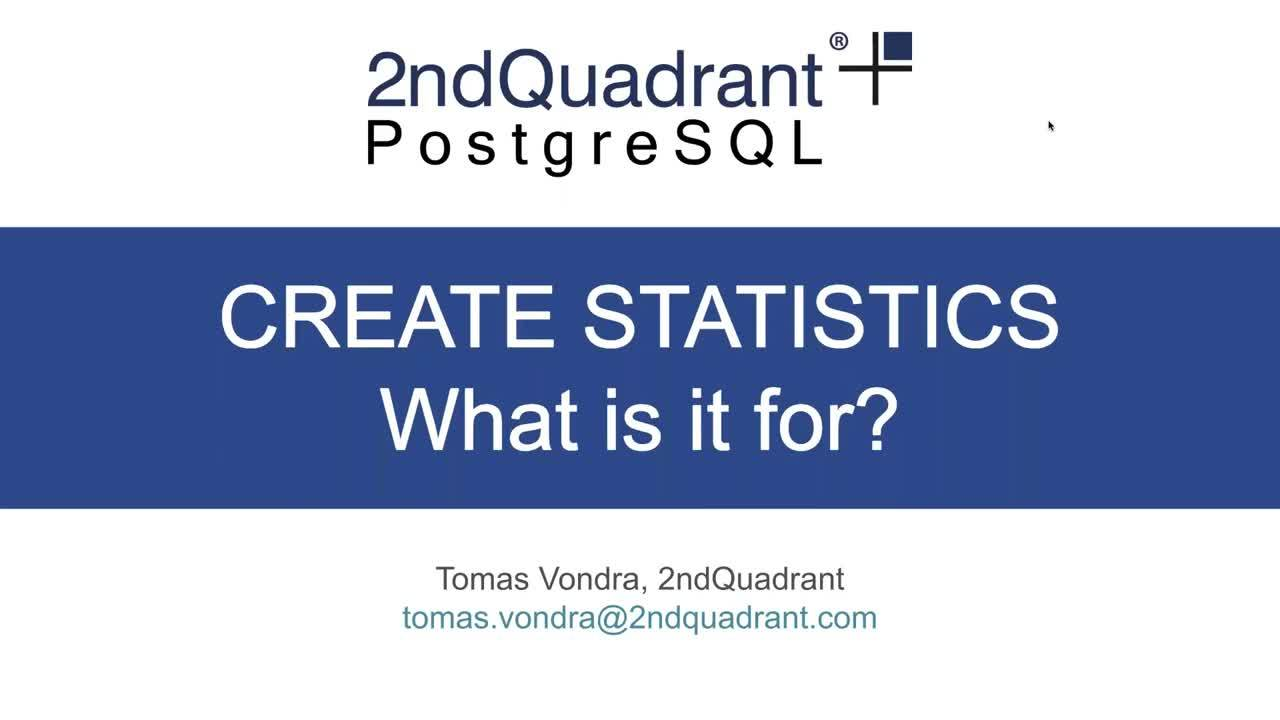 Webinar All you need to know about CREATE STATISTICS_Hubspot