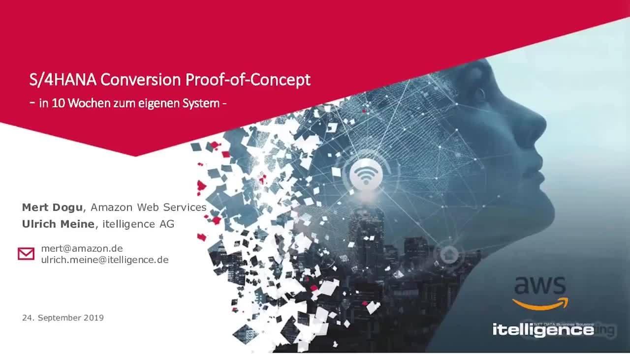 S/4HANA Conversion Proof-of-Concept