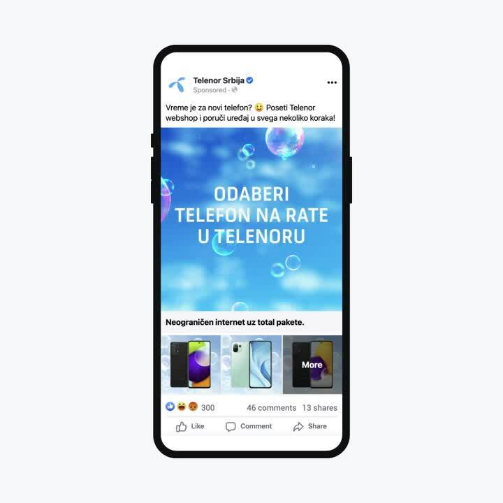 Collection ads Telenor