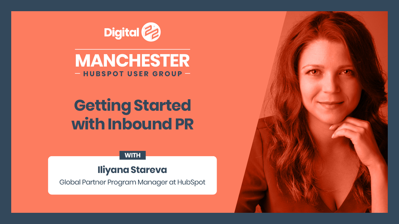 Getting started with inbound PR: the key takeaways from the Manchester HUG
