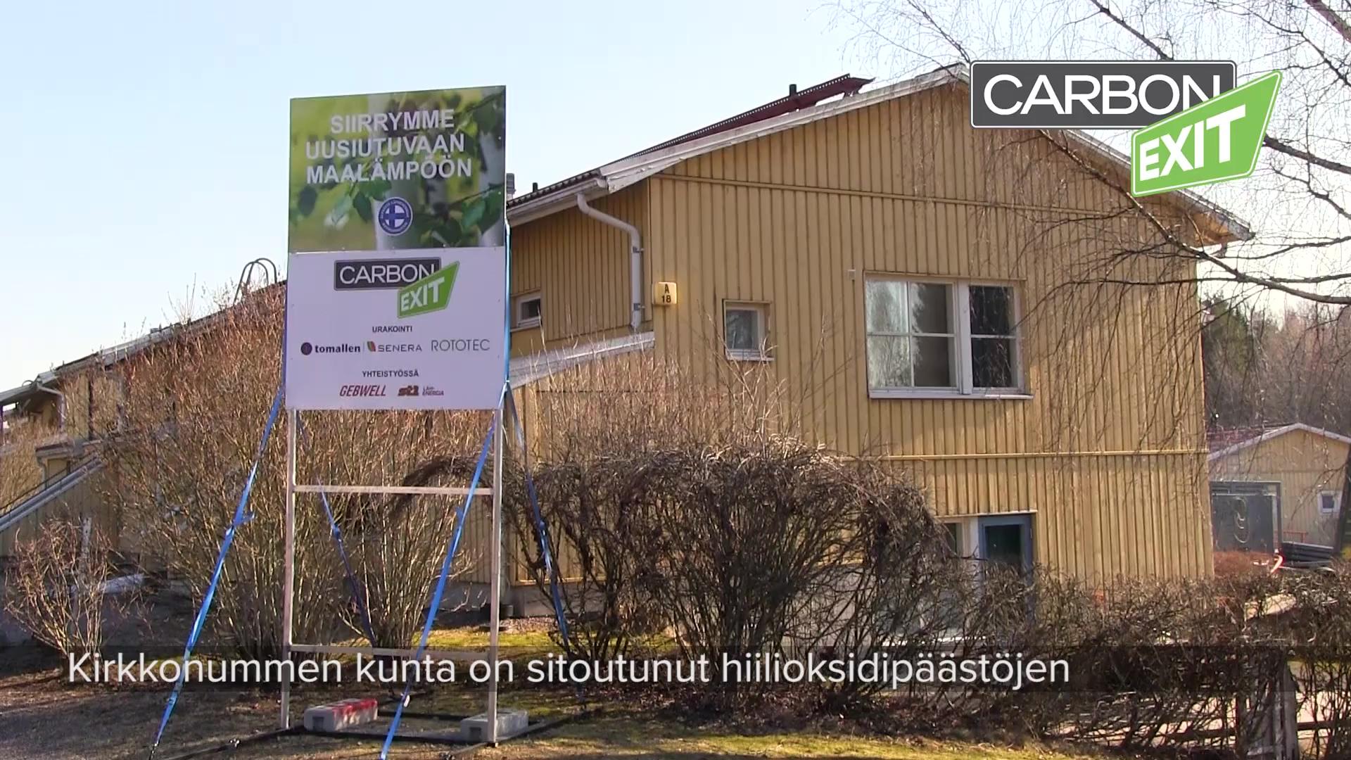 Carbon Exit Kirkkonummi PORAUKSET
