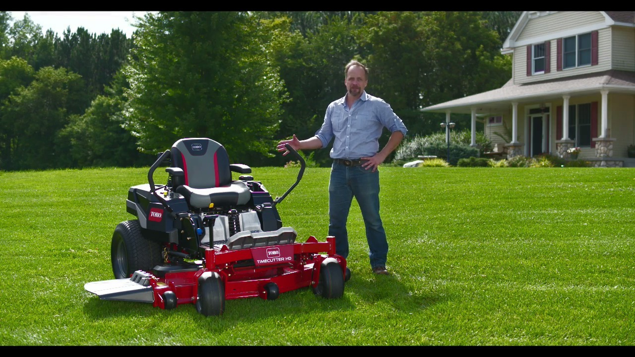 NEW Toro® TimeCutter HD Zero Turn Mower
