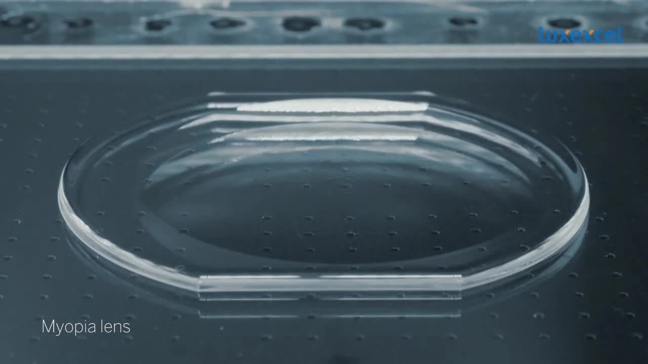 3D printed lens timelapse Luxexcel_Medium