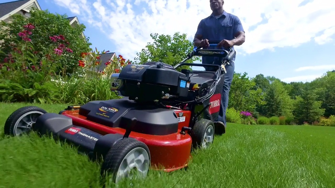 "TimeMaster® 30"" Lawn Mower - More Time To Play"
