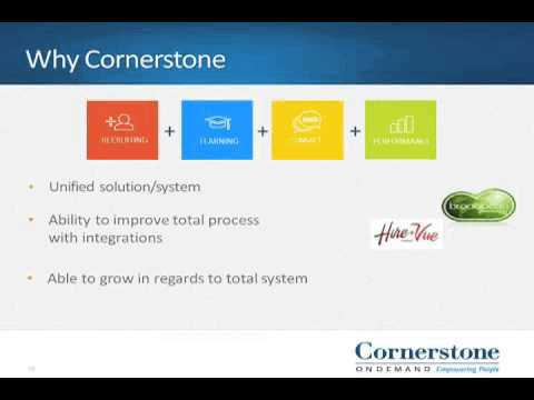 ZF's experience implementing Cornerstone