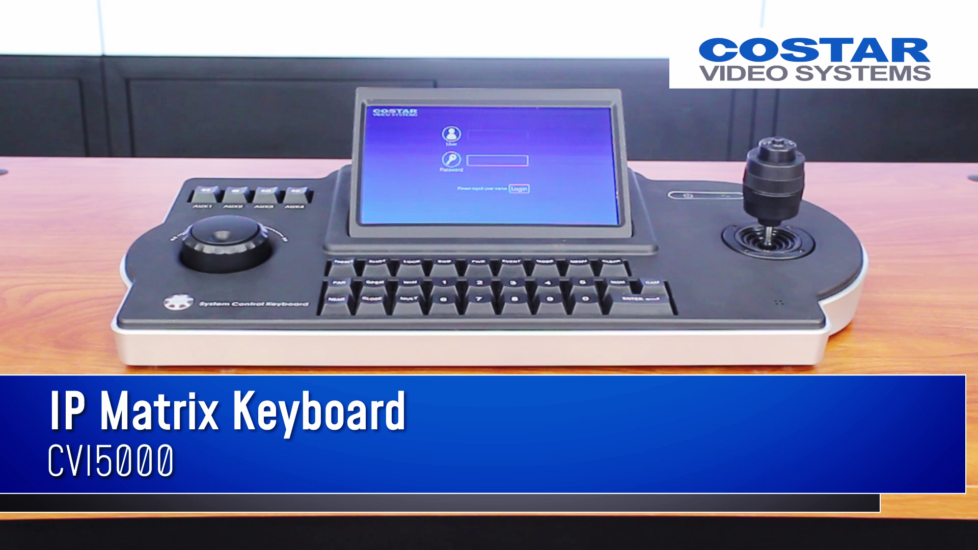 06.27.19 - PROD - IP Joystick Keyboard - CVI5000