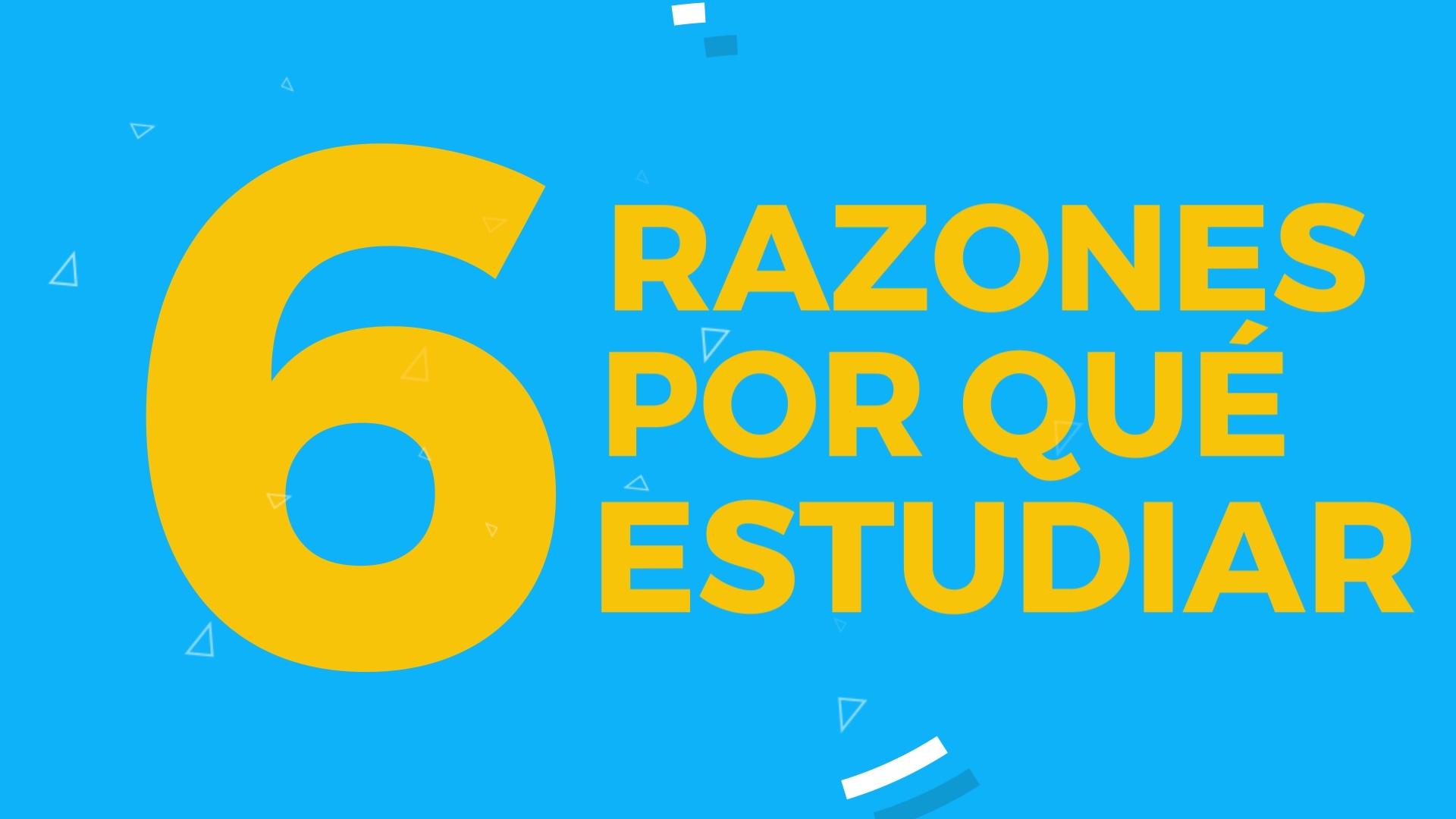 6 Razones