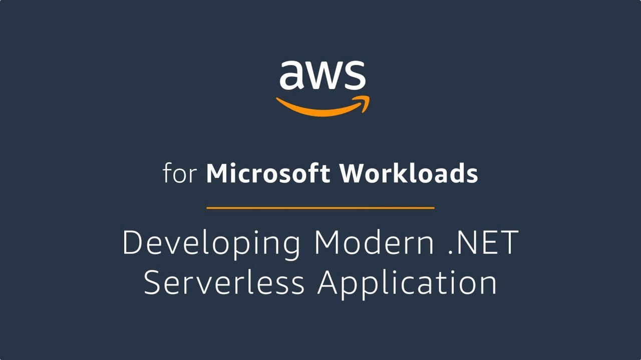 Developing Modern .NET Serverless Application