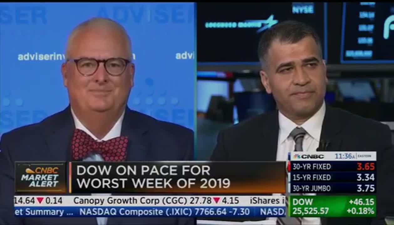 Lowell on CNBC: Perspective on Dow's 800-Point Drop