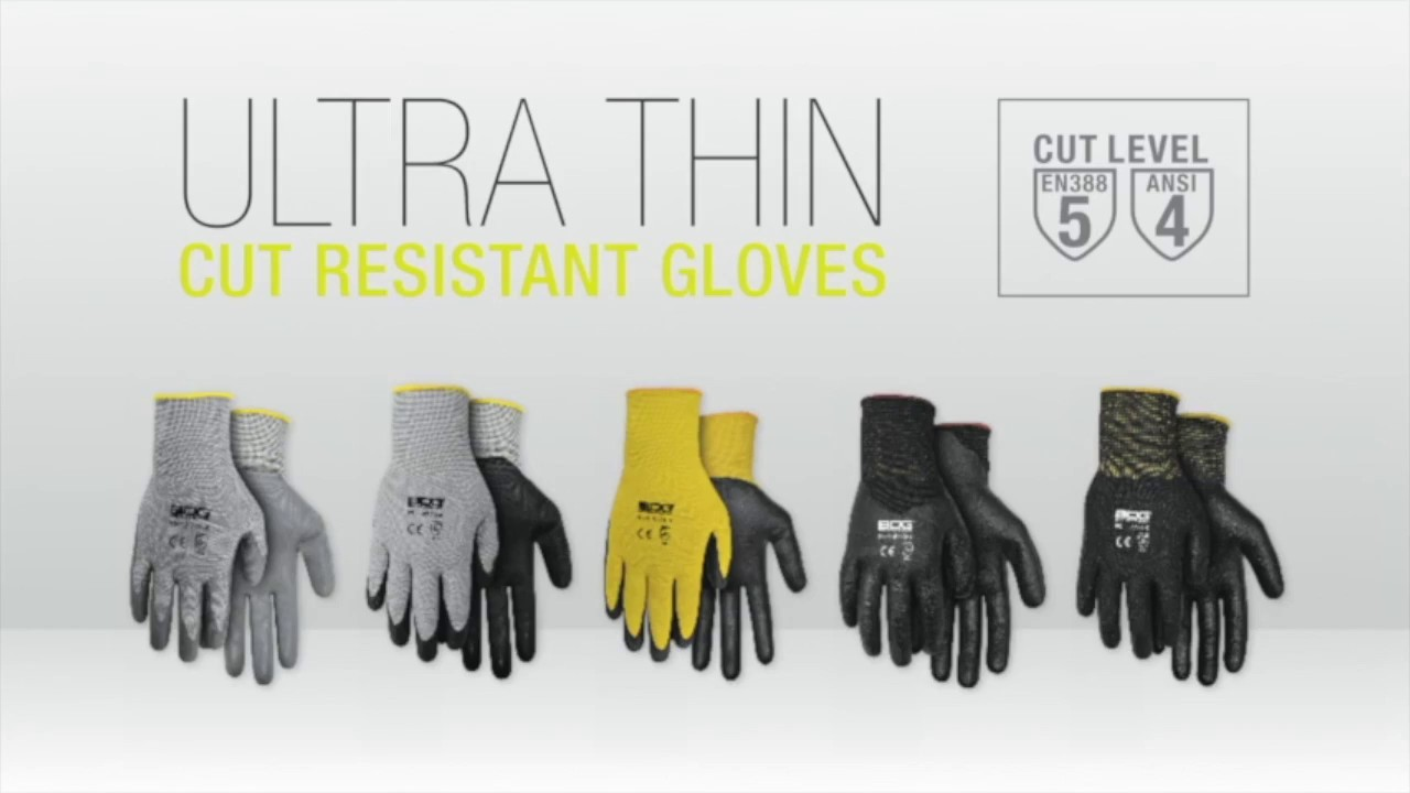 Keyline Safety:  Cut Resistant Gloves