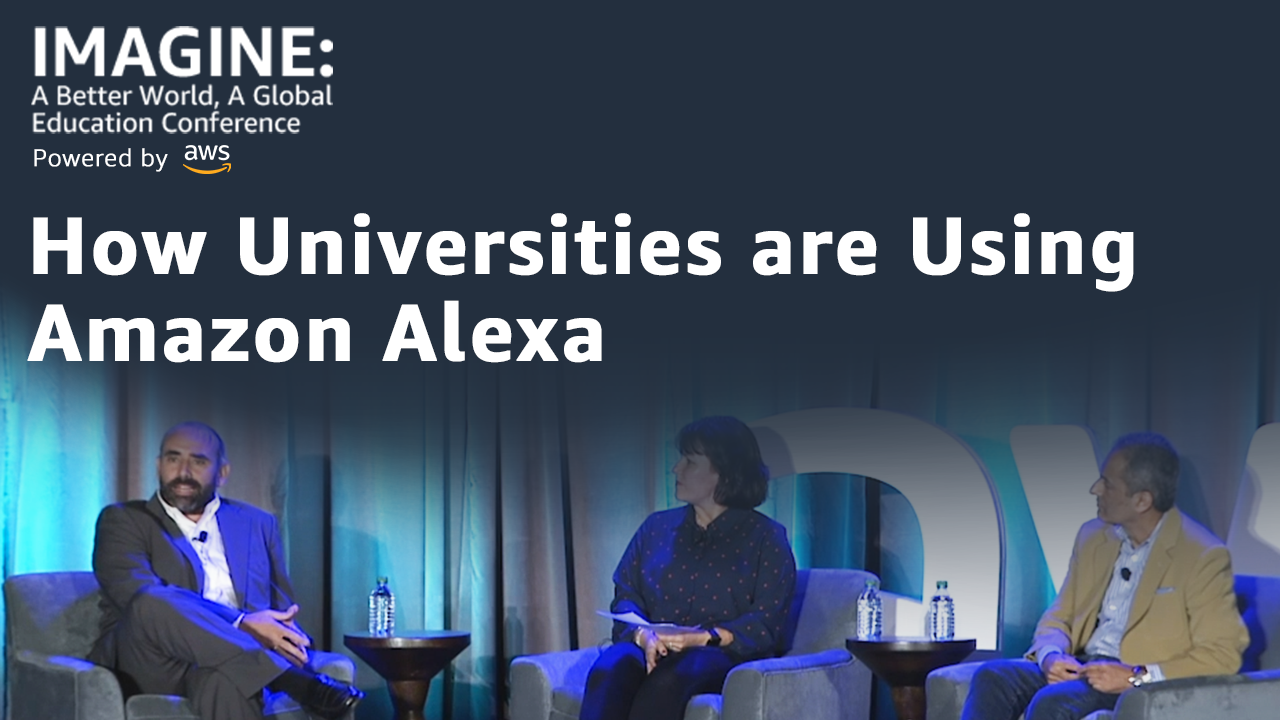 How Universities from Around the World are Using Amazon Alexa to Transform Life on Campus