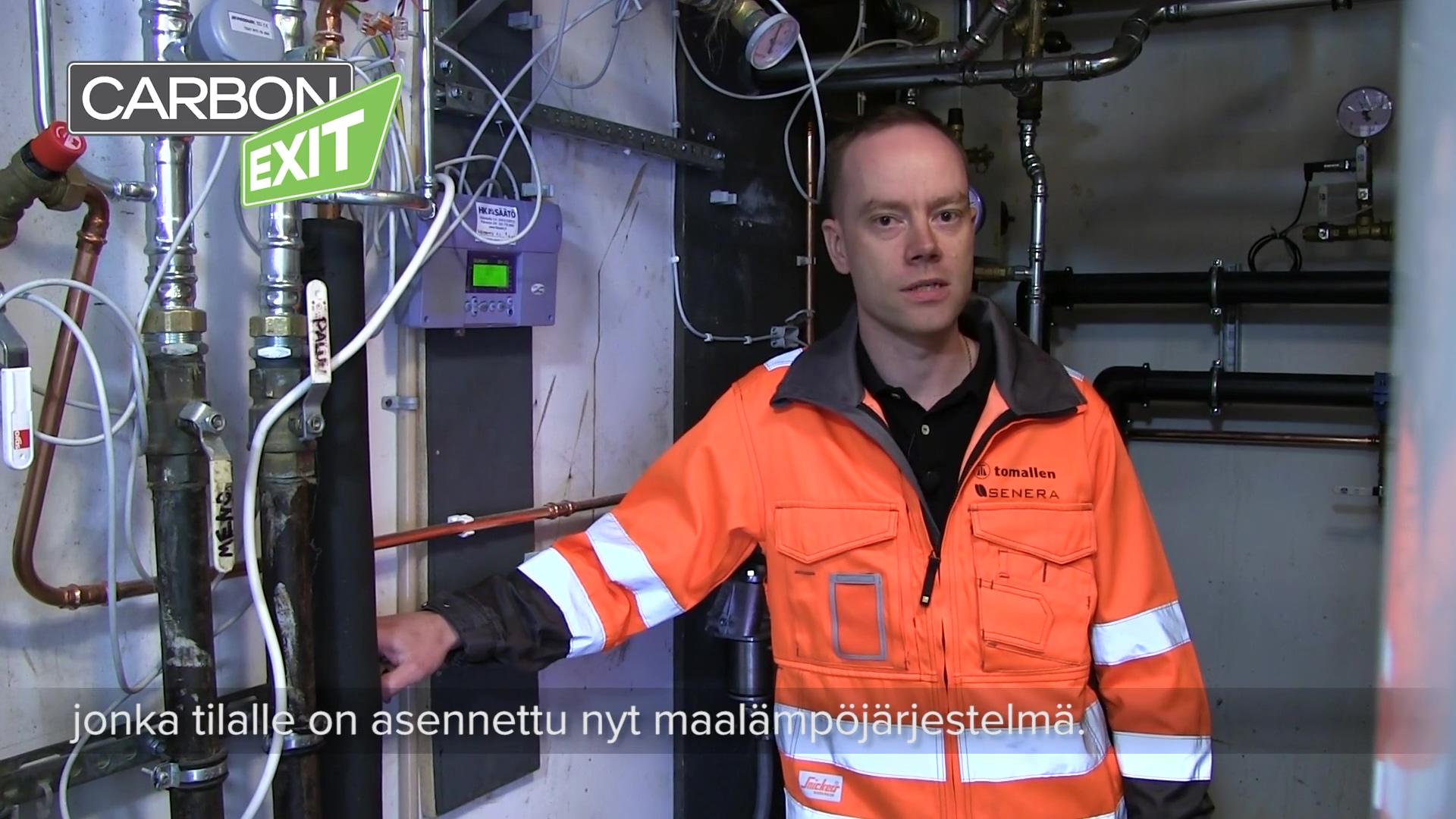 Carbon Exit Kirkkonummi Vaarinpiha ASENNUKSET
