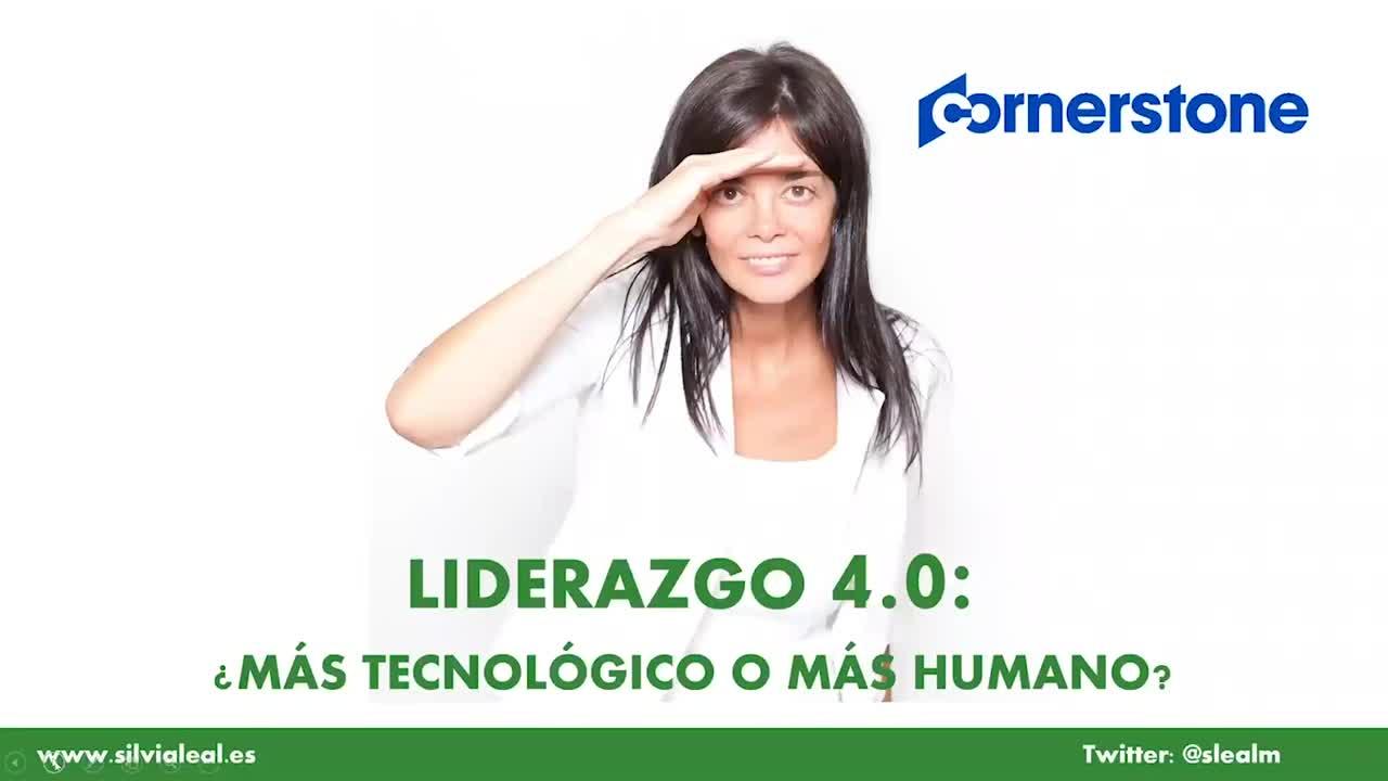 Webinar con Silvia Leal:  Liderazgo 4.0. ¿Más tecnológico o más humano?