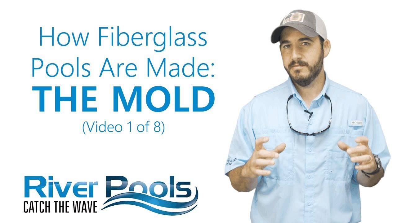 how fiberglass pool molds are made